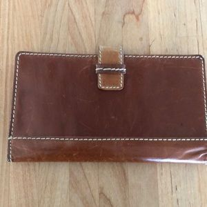 Genuine Leather Fossil Wallet